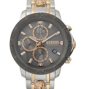 Versace Versus 46mmm Two Tone Watch
